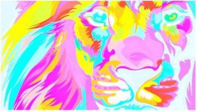 Tailer-made image lion