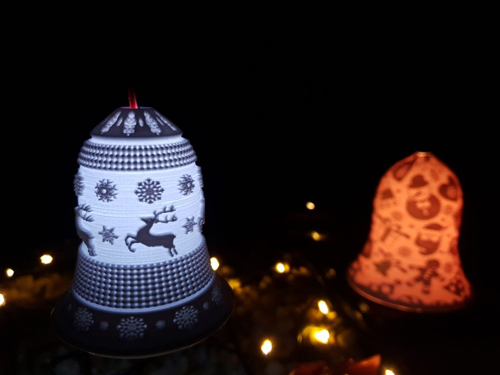 Christmas ornament bell