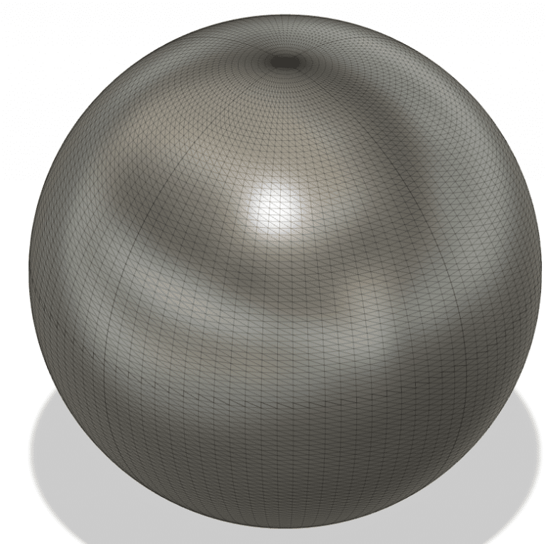 3D model of a sphere