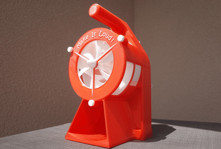 The Hand Crank Air Raid Siren​