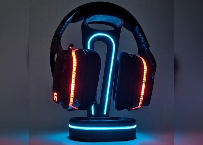 headset holder 3D print