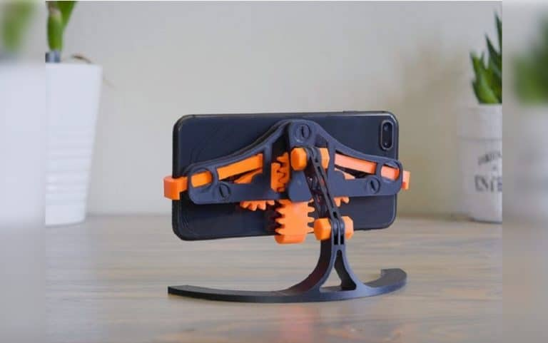 Mechanical Quick GrabRelease Phone Stand​ 3 print