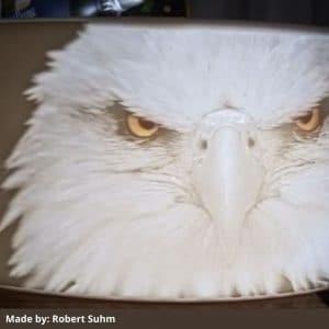Sunlu lithophane filament PLA Eagle