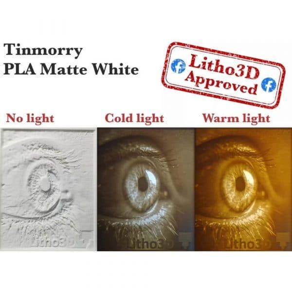 Lithophane light test